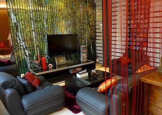 客厅电视背景墙装修效果图大全 奢华欧式风格让你 ...