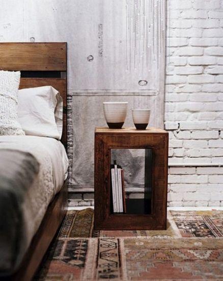 创意的床头柜设计图 点缀完美卧室空间图片
