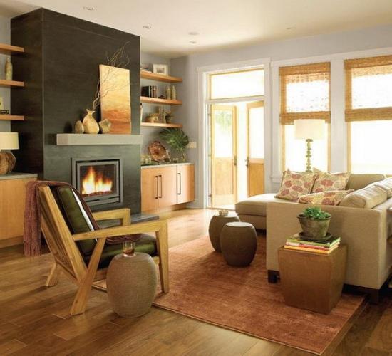 2013家装设计效果图大全 小户型客厅经典案例