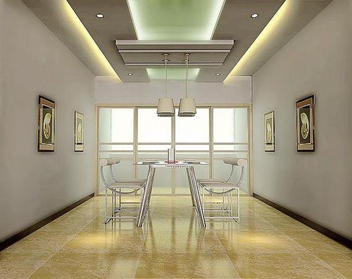 欣赏餐厅吊顶装修效果图 畅享艺术品位生活