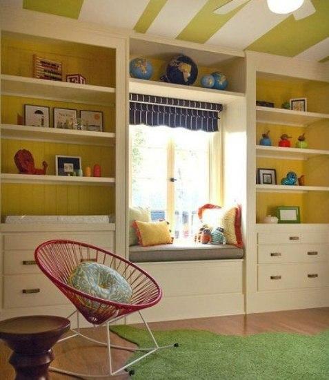 儿童房飘窗装修设计 走进童话里