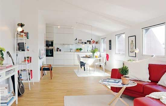 小户型装修效果图大全 清新北欧风格的自然美宅