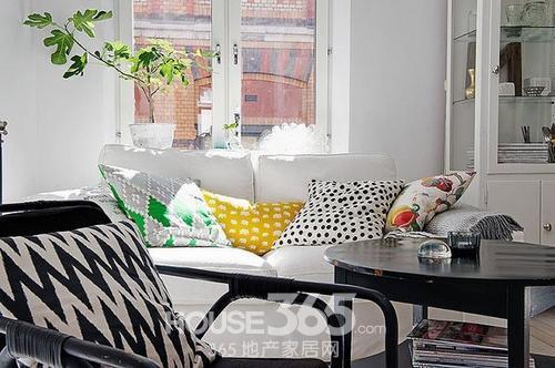 无锡单身公寓装修 50平米纯净北欧风赏气质