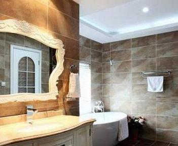 卫生间装修图 时尚案例为你打造雅致空间