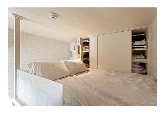20平米单身公寓装修 欧式Loft时尚女性气息高清图片