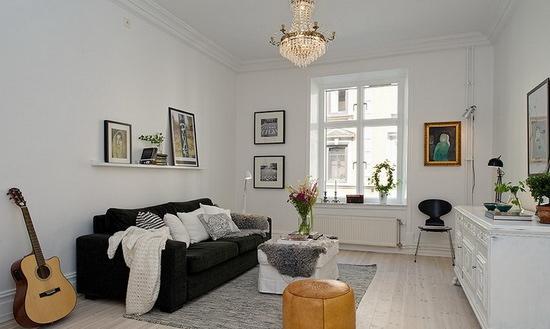 2013客厅装修效果图 小户型家居让视觉更开阔