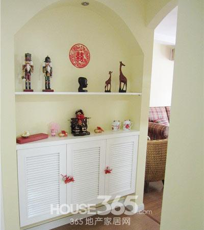 简欧风格装修图片 60平米小户打造两室一厅