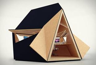 惊掉下巴:帐篷大小的小屋 竟然什么都有!
