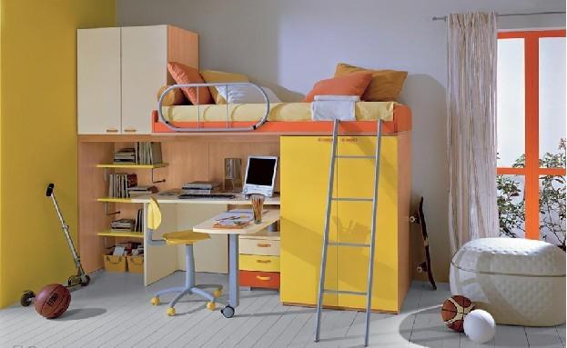 兒童臥室裝修效果圖 本期主題清新淡雅簡約風