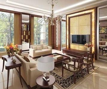 客厅地板砖效果图 打造完美客厅空间