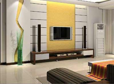电视背景墙设计装修图鉴赏