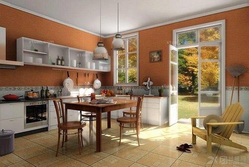 开放式厨房装修效果图鉴赏-365地产家居网图片