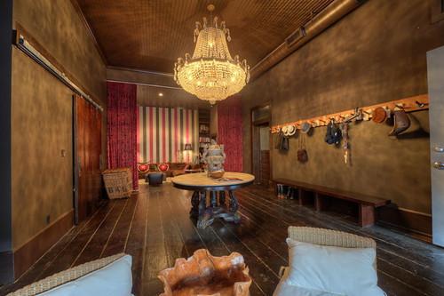 全通透式的格局欧式风格客厅装修客厅设计