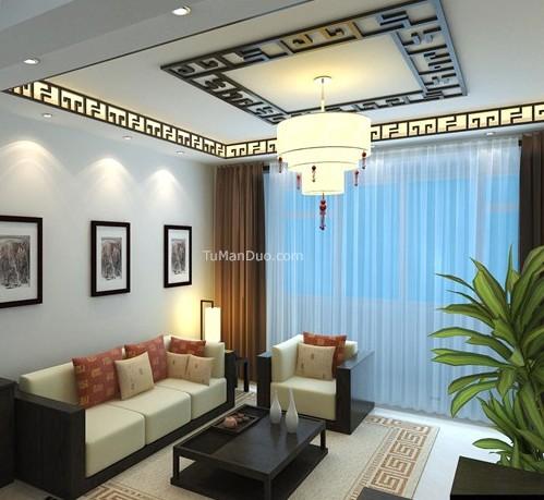 客厅集成吊顶效果图 打造最亮眼的抬头风景
