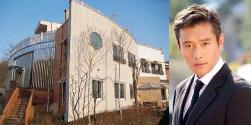 李秉宪与他的豪宅