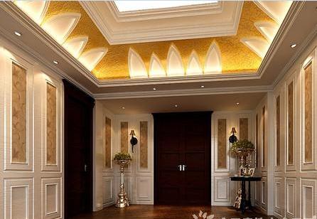 欧式新古典装修风格欣赏:客厅 欧式新古典装修风格欣赏:楼梯间
