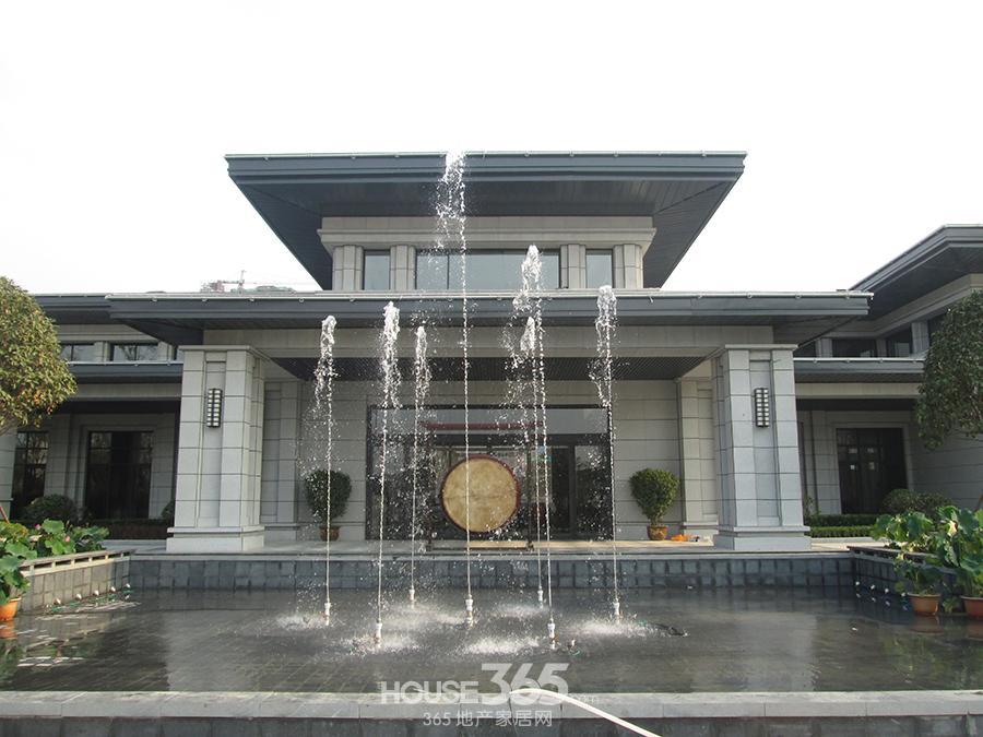 高清组图城南千亩新中式风大盘 售楼部外中国风十足西安房地产365地产家居网