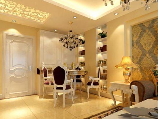 新古典装修风格客厅 与奢华的浪漫邂逅