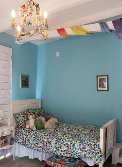 儿童房间装修图片 清新设计打造最萌的房间