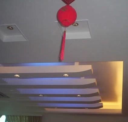 不同风格的过道吊顶设计