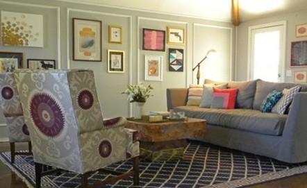 客廳刷漆效果圖欣賞 帶你領略客