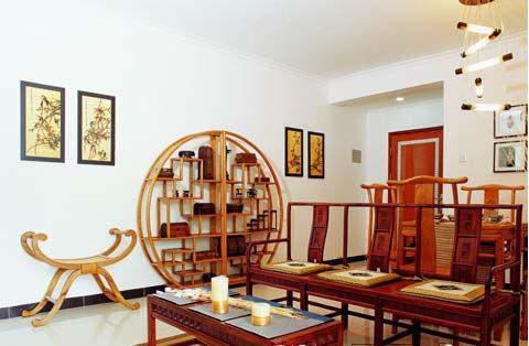 中式客厅装修效果图 带你感受中国风的韵味