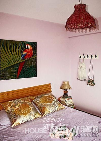 瑞丽家居装修效果图 80㎡公寓走起度假风图片
