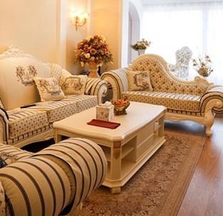 欧式客厅装修效果图 时尚潮流家装案例