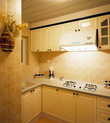 欧式厨房装修效果图鉴赏