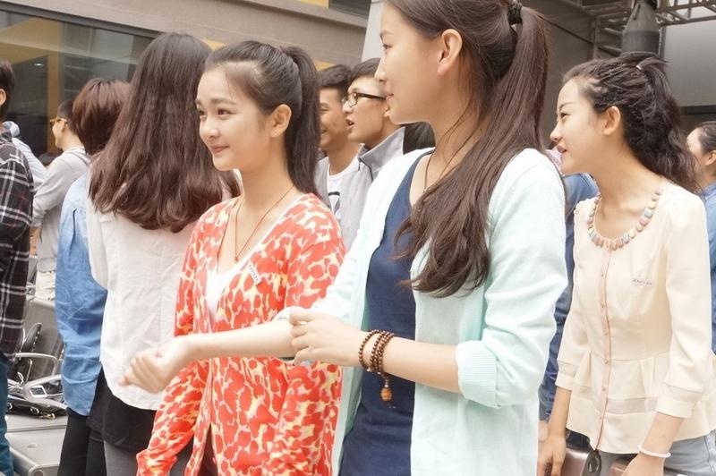 组图:中戏新生开学典礼