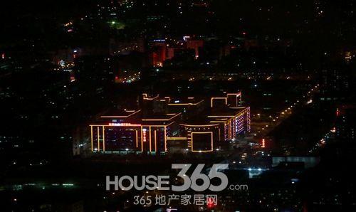 深圳夜景高空俯瞰图-HOUSE365摄-深圳,我们来了 万科品牌体验之旅