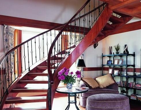复式楼梯设计效果图-365地产家居网