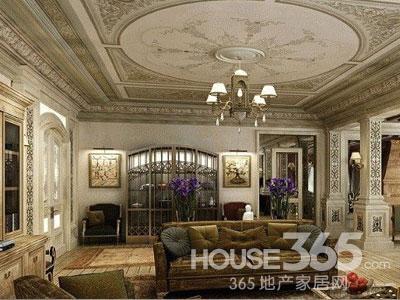 欧式天花板效果图 打造舒适精致家