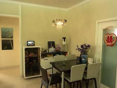 """两室一厅装修效果图:餐柜推荐一下,叫""""域之高""""."""