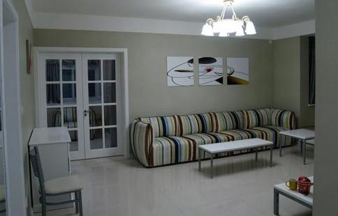 电视背景墙装修图片 缤纷色彩客厅