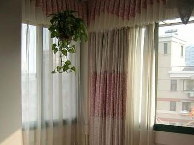 美式乡村窗帘效果图