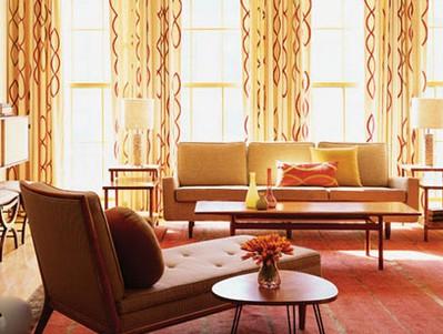 欧式客厅窗帘效果图赏析-365地产家居网