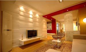大电视墙装修效果图 优雅家居氛围