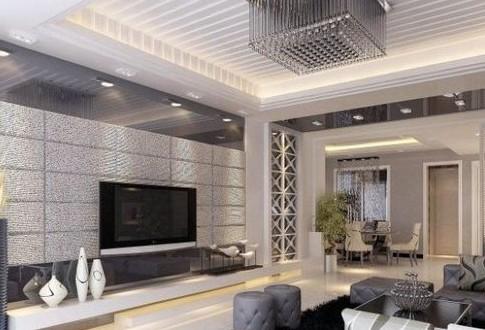赏潮流客厅电视墙装修效果图大全