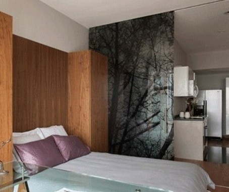 卧室和书房隔断效果图 教你巧扩功能区高清图片