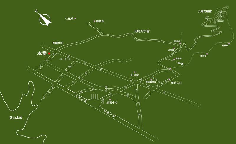 绿色公路矢量图