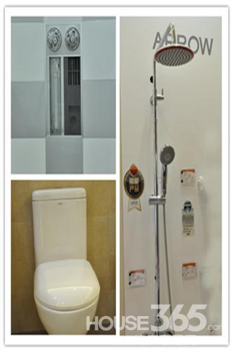 简约而不简单的6平米卫浴空间