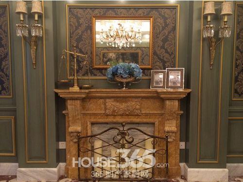 隆重推出奢装样板房,欧式奢华风的室内布置吸引了不少客户前来品鉴.
