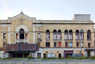 即将消失的底特律老房子