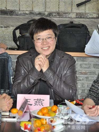 参加此次三菱重工暖设计沙龙的嘉宾HOUSE365资讯总监王燕