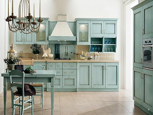 欧式开放式厨房装修设计