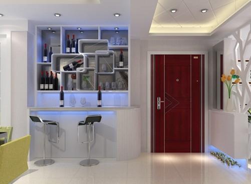 家装酒柜效果图 让客厅更加时尚的设计