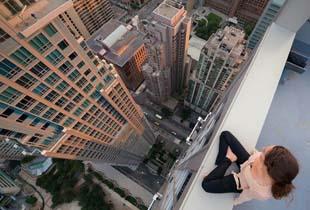 做只飞翔的鸟儿 换一个角度俯瞰脚下这座城市