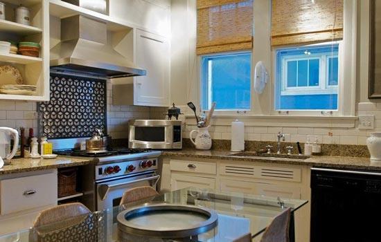 地中海风格厨房 美丽厨房让你天天好心情图片