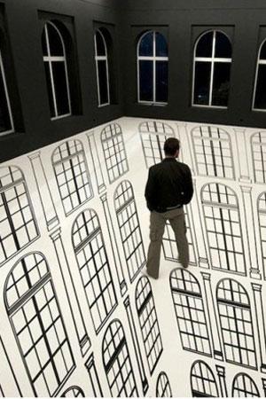 地板创意装修设计效果图 活力四射-365地产家居网图片